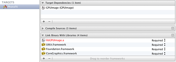 Figure 10: GPUImage Framework