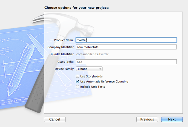 iOS 5 and The Twitter Framework (Part 1): Configuring The Project - Figure 5