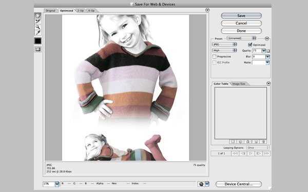Photoshop Saving