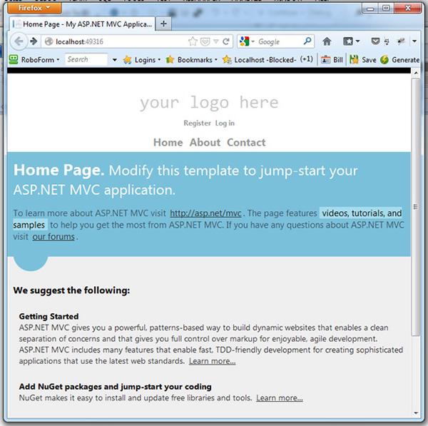 default-web-page