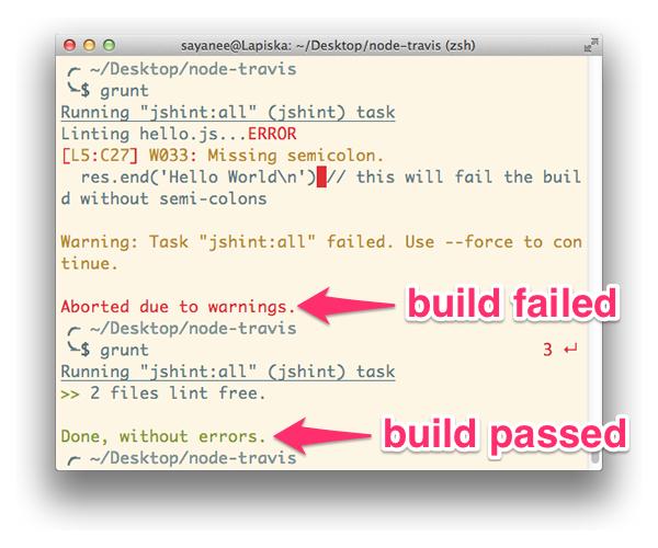 travis-fail-pass