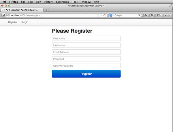 laravel-auth-register-page