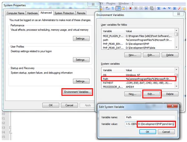 Windows System Variables
