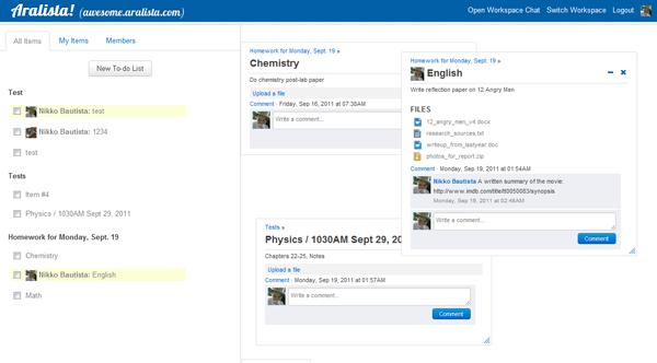 windows-like interface example from Aralista!