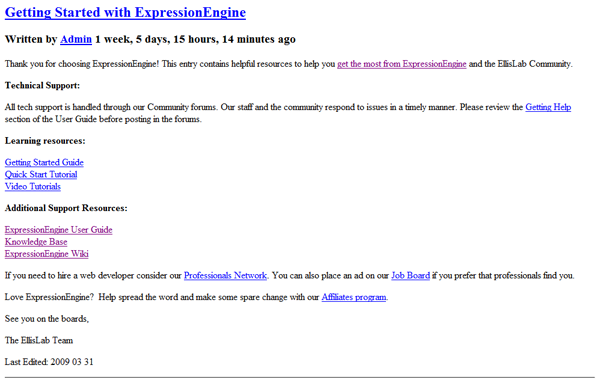 our Test Template screenshot 1
