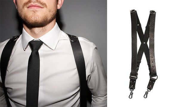 The Money Maker calls to mind the shoulder holster of a 1950s detective Holdfast makes a number of other designs as well