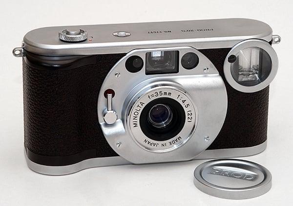vintage and film cameras