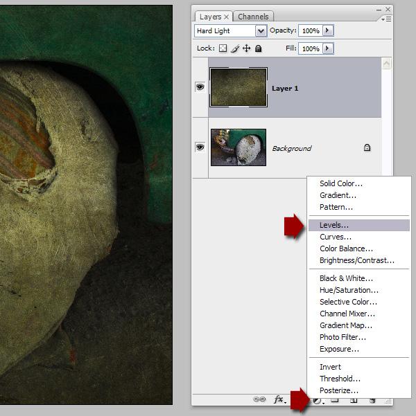 adding textures to photos