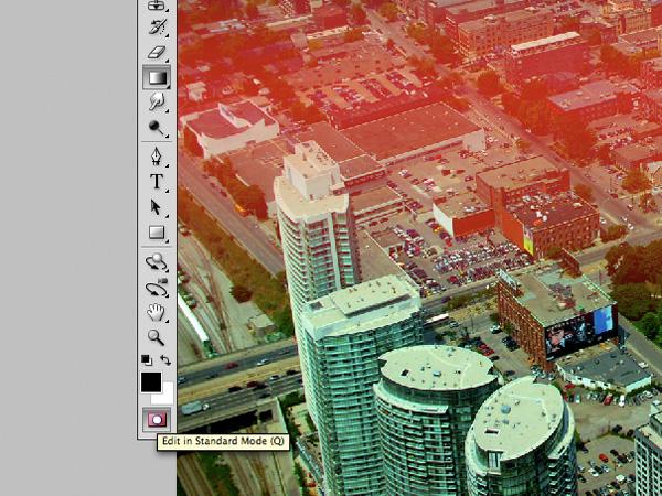 photoshop tilt-shift effect