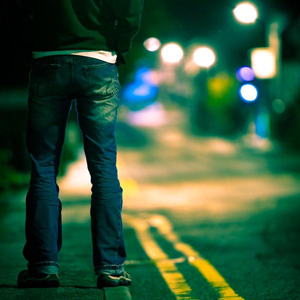 night photography shooting