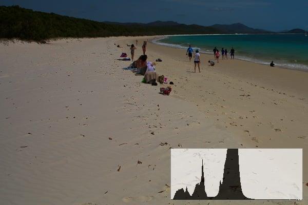 beach photography exposure