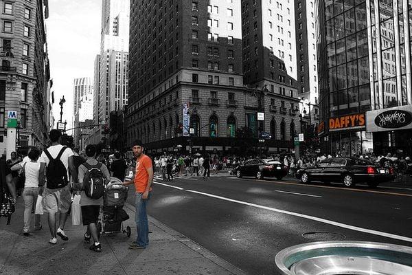 partial color colour photography