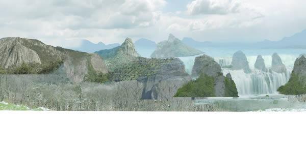 mountain-01 duplicate render