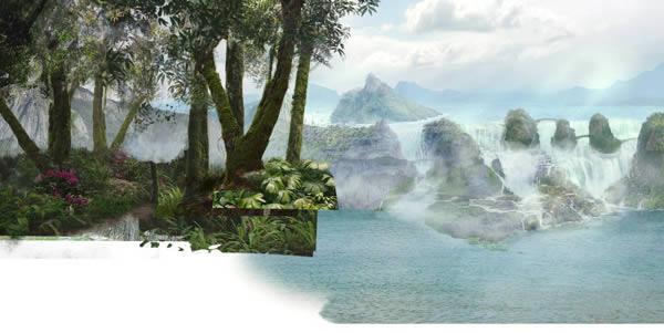 jungle-01 reduplicate render