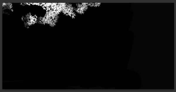jungle-01 reduplicate layer mask view
