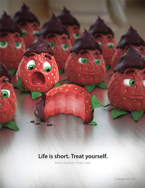 Strawberry Ad