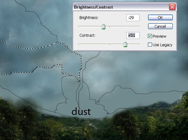 Construct the Twister from Clouds
