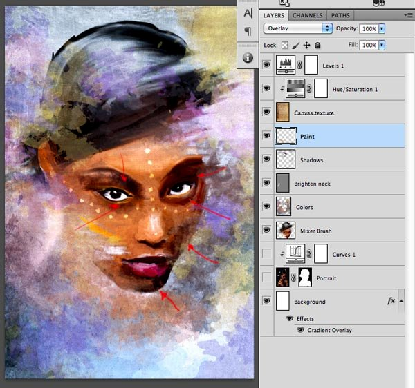Step 2  On images like this using the Pen tool is very useful as we have lots of clean curves on the edges With the Pen tool you can create curves easily to track the outlines of the portrait Once we draw the whole path we will turn it into a selection
