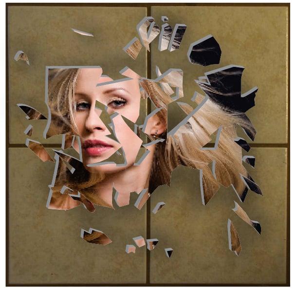 Broken Mirror Effect Finished