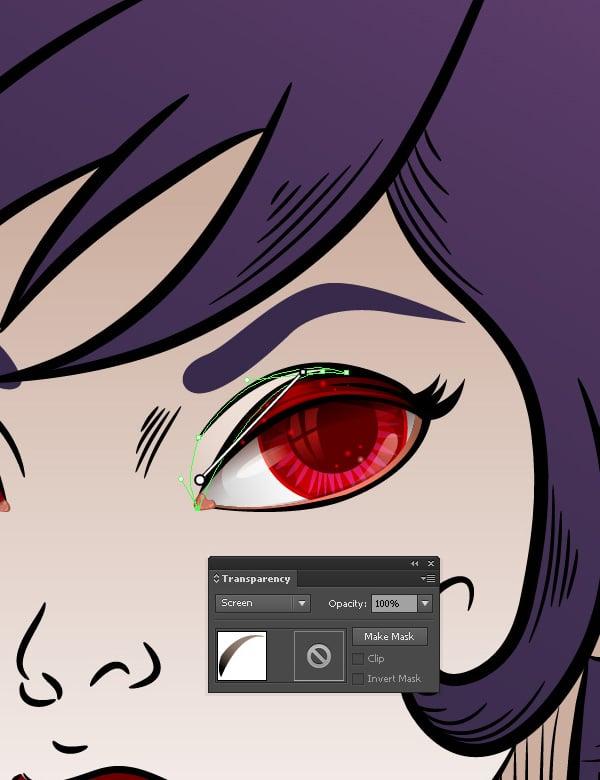 Vampiress_Adding_Highlight_above_Eye