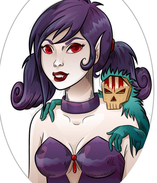 Vampiress_Adding_More_Details