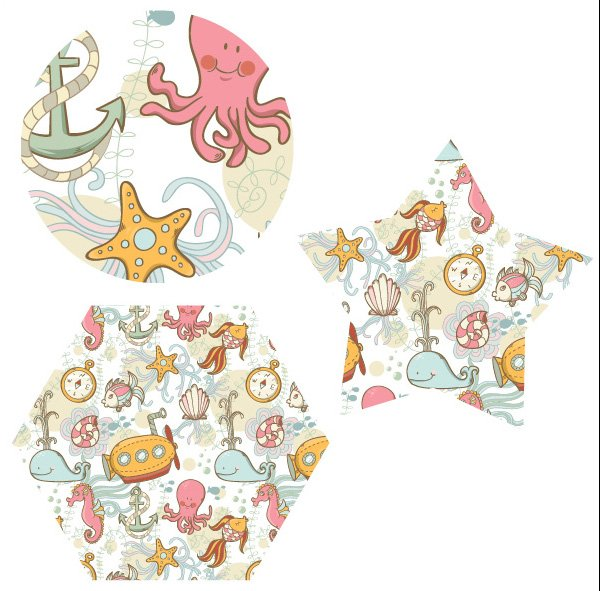 Sea-Pattern-Applying-to-Shapes