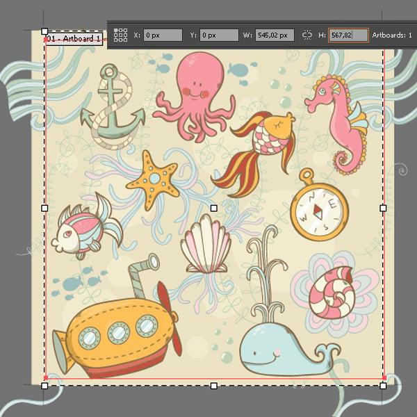 1-Sea-Pattern-Artboard-Tool2