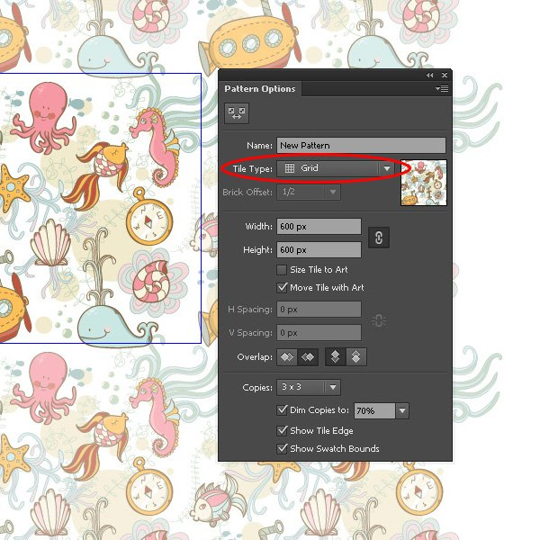 1-Sea-Pattern-Edit-Pattern-Grid-Tule-Type