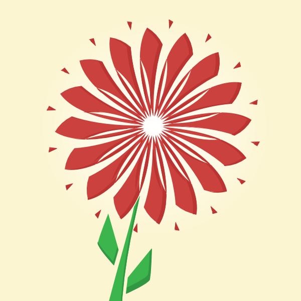 polygon flower