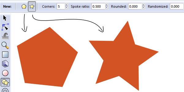polygons and stars