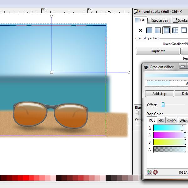linear gradient rectangle