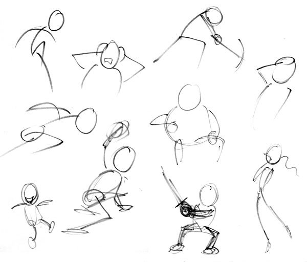 Sketches without reference
