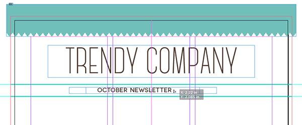 center align october newsletter textbox