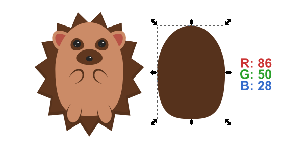 copy body for shading