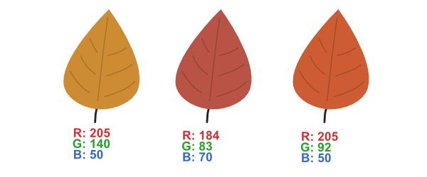 make more leaf colors