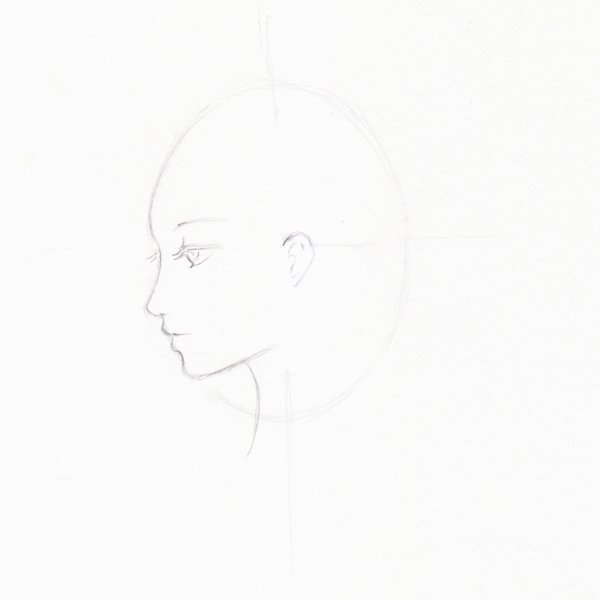 Step 6 - Addmore contrast to basic lines