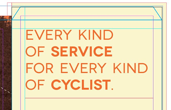service and cyclist demibold