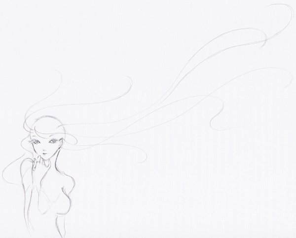 Step 6  Lineart