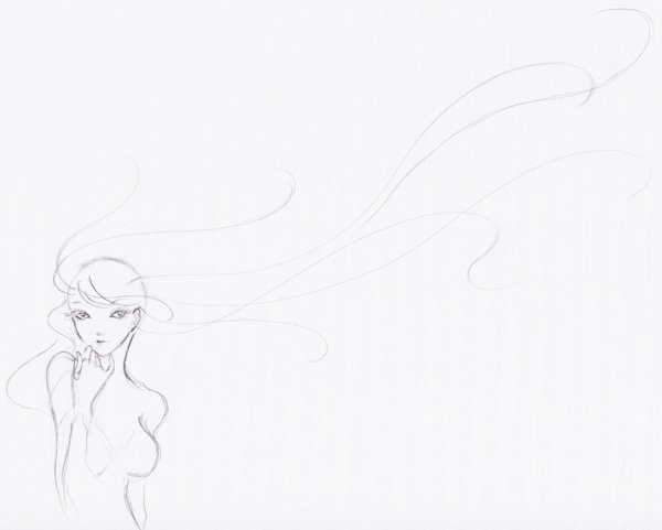 Step 7  Lineart