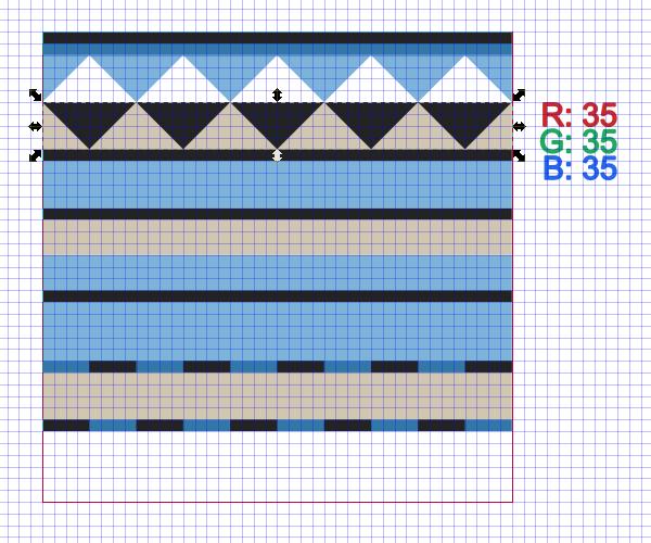 repeat same design