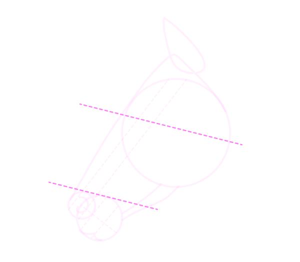 drawinghorse_5-5_head_profile