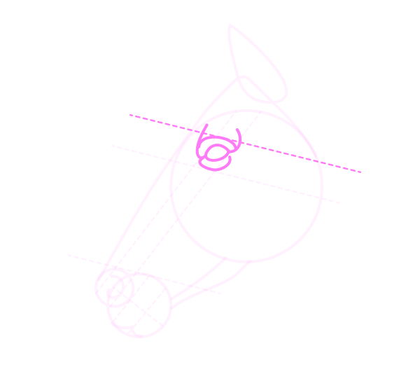 drawinghorse_5-6_head_profile
