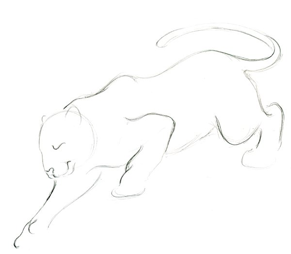 Step 7 - Lineart