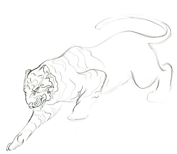 Step 14 - Lineart