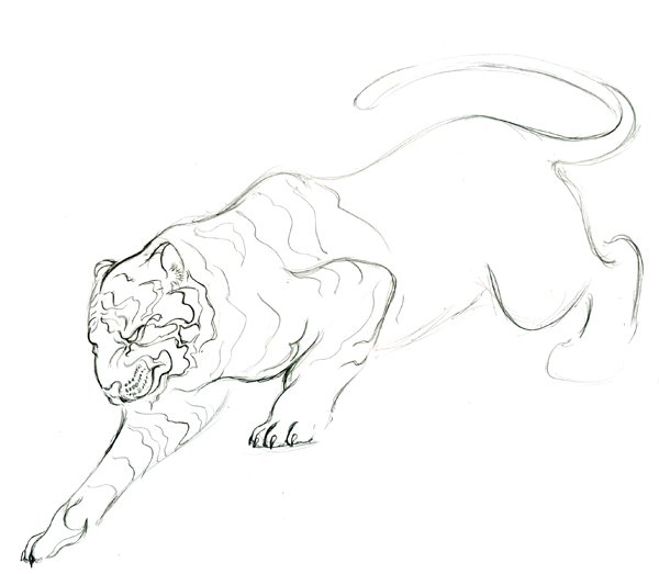Step 15 - Lineart
