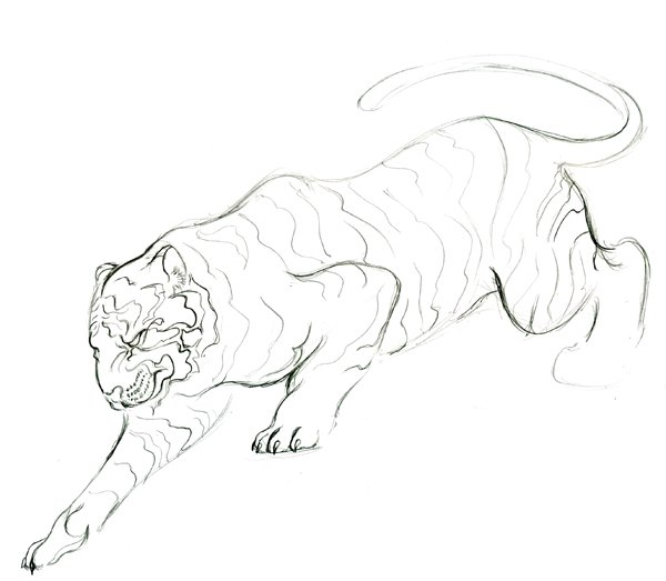 Step 16 - Lineart