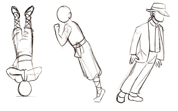 Seemingly impossible poses