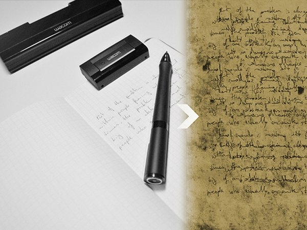 Wacom Inkling Manuscript x600