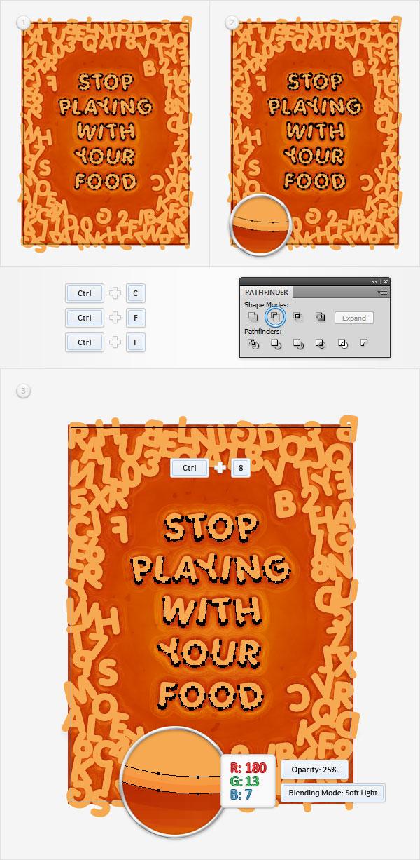 Alphabetti Spaghetti Text Effect