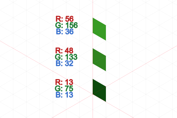 leaf block colors